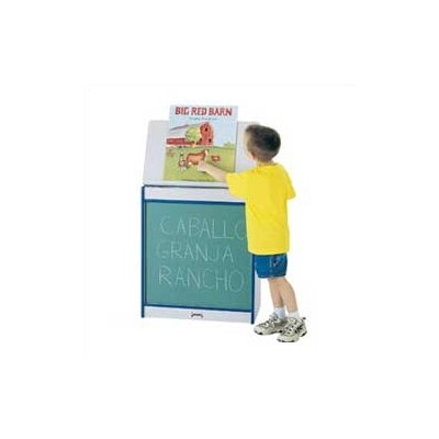 Jonti-Craft Rainbow Accents Big Book Easel - Chalkboard