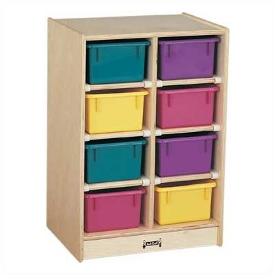 Jonti-Craft 8 Tray Mobile Storage