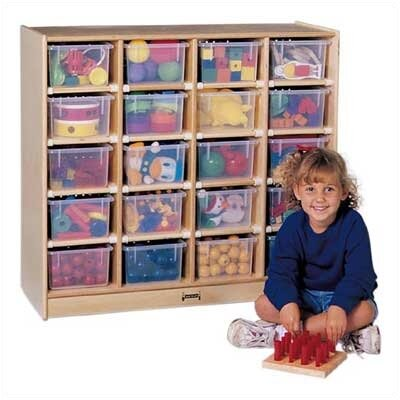 Jonti-Craft a20 Tray Mobile Storage