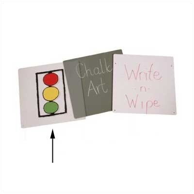 Jonti-Craft Acrylic Easel Panel - Double