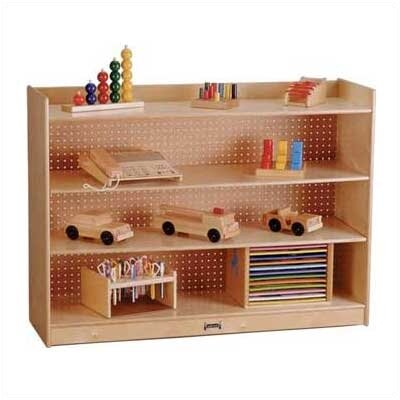 "Jonti-Craft ThriftyKYDZ 36"" H Mobile Bookcase w/ Lip"