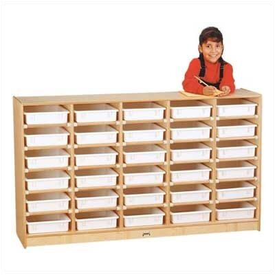 Jonti-Craft Paper-Tray 30 Compartment Cubby