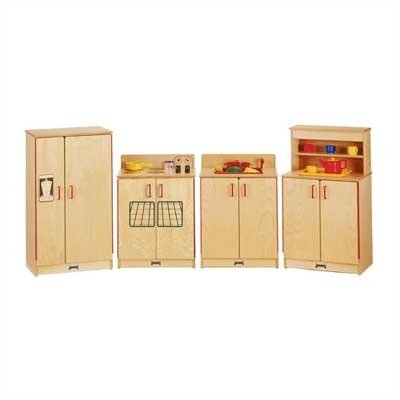Jonti-Craft 4 Piece Birch Kitchen Set