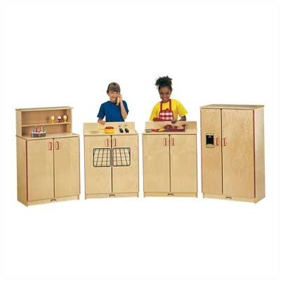 Jonti-Craft ThriftyKYDZ The Natural Birch Kitchen - 4 Piece Set