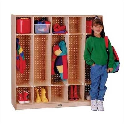 Jonti-Craft ThriftyKYDZ Coat Locker - 5 Sections