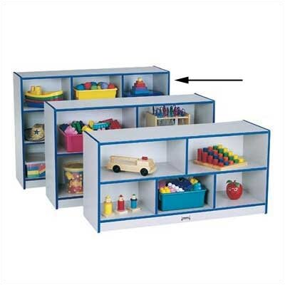Jonti-Craft Rainbow Accents Super-Sized Single Storage Unit
