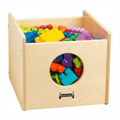 Jonti-Craft ThriftyKYDZ See-n-Wheel Cubby Bin