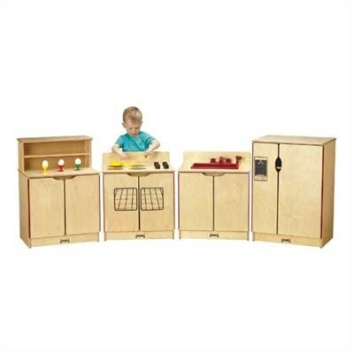Jonti-Craft 4 Piece Kinder-Kitchen Set