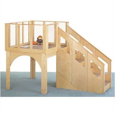 Jonti-Craft Tots Loft Playhouse