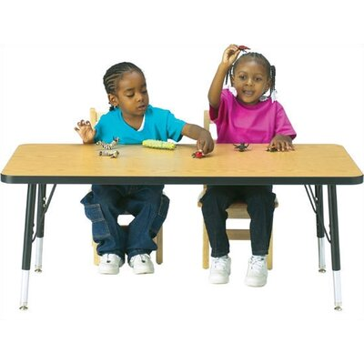 Jonti-Craft KYDZ Activity Table- Rectangular (30&quot; x 48&quot;)
