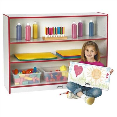 "Jonti-Craft 36"" H Rainbow Accents Super Sized Adjustable Bookcase"