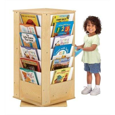 Jonti-Craft KYDZ Revolving Rectangular Book Tower