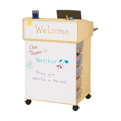 "Jonti-Craft KYDZ Communication Center - Rectangular (29.5"" x 26"")"