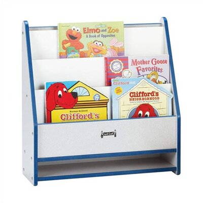 "Jonti-Craft Rainbow Accents 25"" Rectangular Toddler Book Stand"