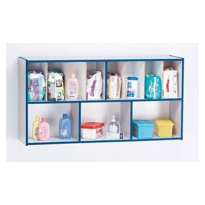 "Jonti-Craft KYDZ Rainbow Accents Diaper Organizer - Rectangular (47"" x 12"")"