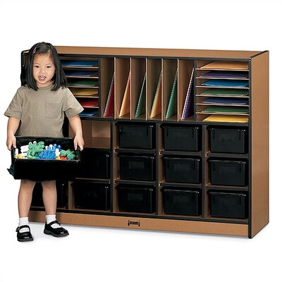Jonti-Craft Sproutz Sectional Mobile 34 Compartment Cubby