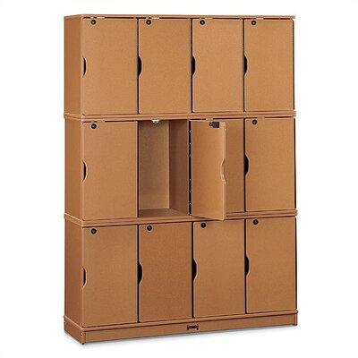 Jonti-Craft SPROUTZ® Stacking Lockable Lockers