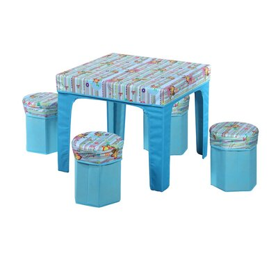 JaBox Kid's Square Pack and Play Table