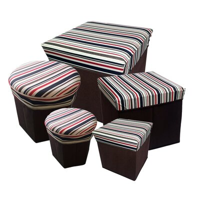 Collapsible Storage Box (Set of 5)