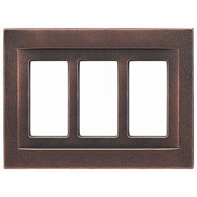 RQ Home Triple GFCI Magnetic Wall Plate