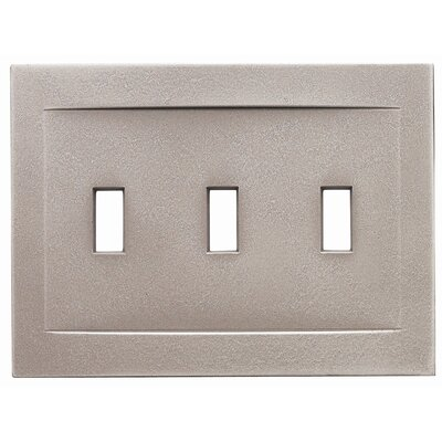 RQ Home Triple Toggle Magnetic Wall Plate