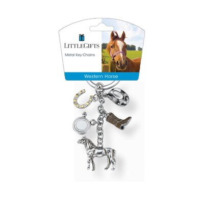 Little Gifts Western Standing Horse V3 Key Chain