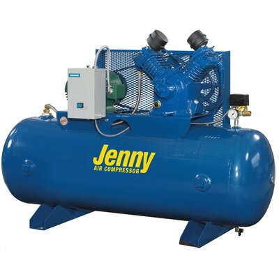 Jenny Products Inc 80 Gallon 3 HP Two Stage Electric Stationary Air Compressor