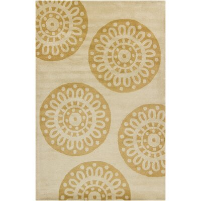 Filament Cinzia Tan Abstract Rug