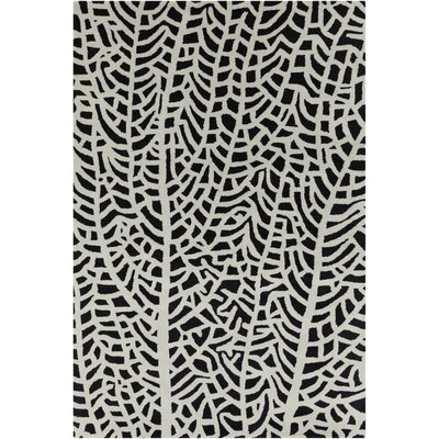 Filament Cinzia Black/White Abstract Rug