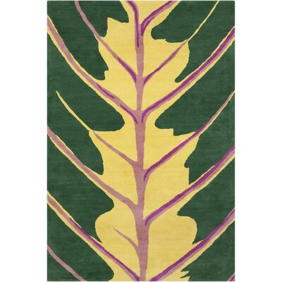 Filament Cinzia Dark Green Tree Rug