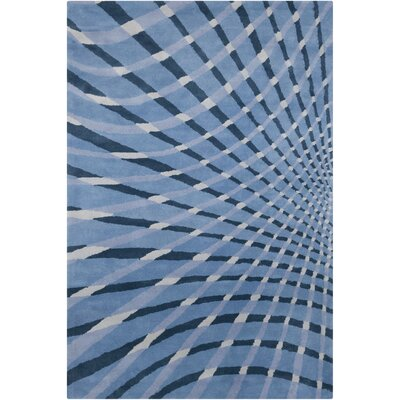 Filament Cinzia Blue Abstract Rug