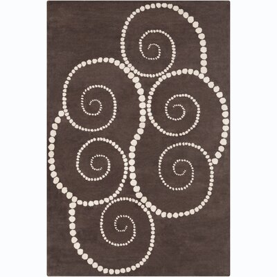 Filament Cinzia Brown Abstract Rug