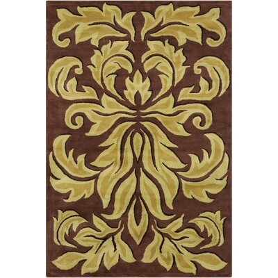 Filament Cinzia Brown Floral Rug