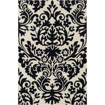 Filament  LLC Cinzia Cream/Black Floral Rug