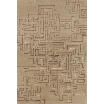Filament Cinzia Tan Geometric Rug