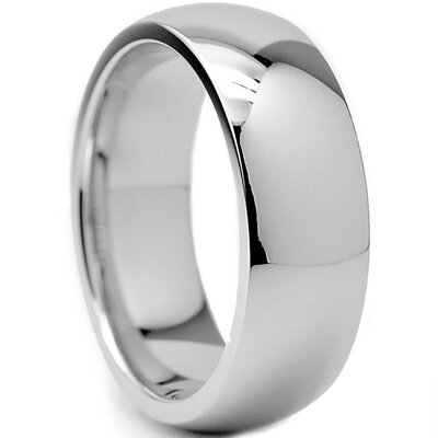 Bonndorf Laboratories Chrome Cobalt Wedding Band