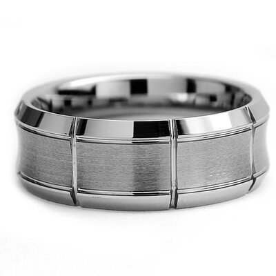 Bonndorf Laboratories Men's Tungsten Engagement Band