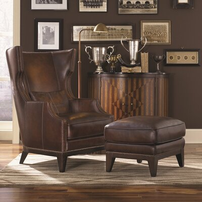 Forbes Accent Chair and Ottoman