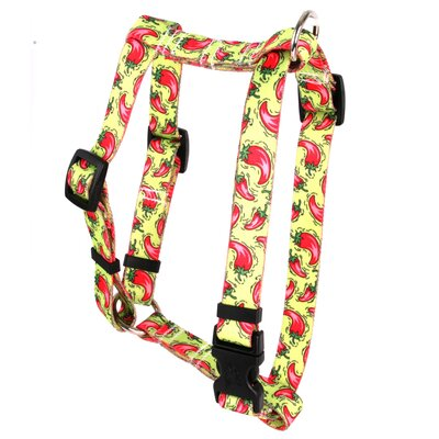Yellow Dog Design Hot Peppers Roman Harness