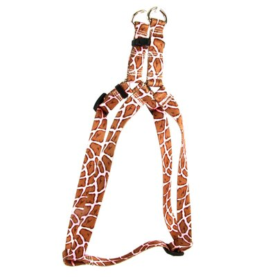 Yellow Dog Design Giraffe Step-in Harness