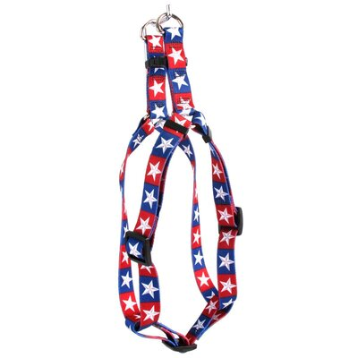 Yellow Dog Design Colonial Stars Step-In Harness
