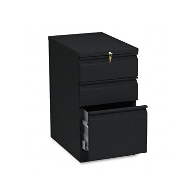 HON Mobile 3-Drawer Efficiencies Pedestal File