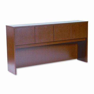 "HON Laminate 37.13"" H x 72"" W Desk Hutch"