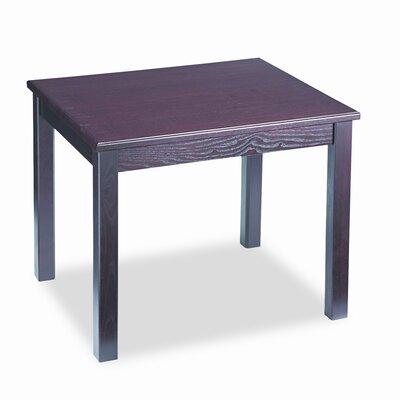 HON 5100 Series Wood End Table, Rectangular, 24w x 20d x 20h, Mahogany