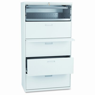 HON 500 Series Five-Drawer Lateral File