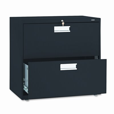 "HON 600 Series 30"" W Two-Drawer Lateral File"