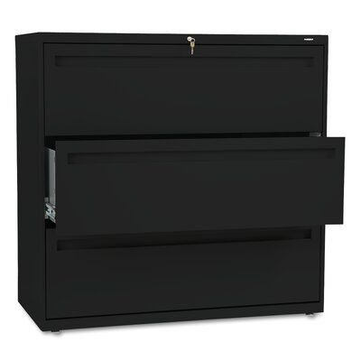 "HON 700 Series 42"" W Three Drawer Lateral File"