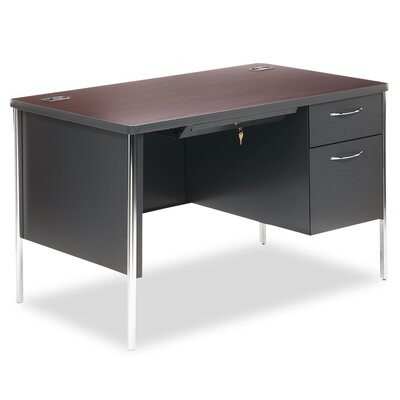 HON Mentor Series Single Pedestal Desk