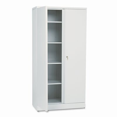 HON Basyx Easy-To-Assemble Storage Cabinet, 36W X 18D X 72H