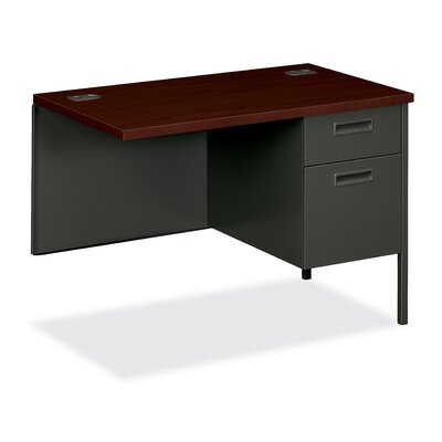 HON 10500 Series Single Pedestal Desk Return